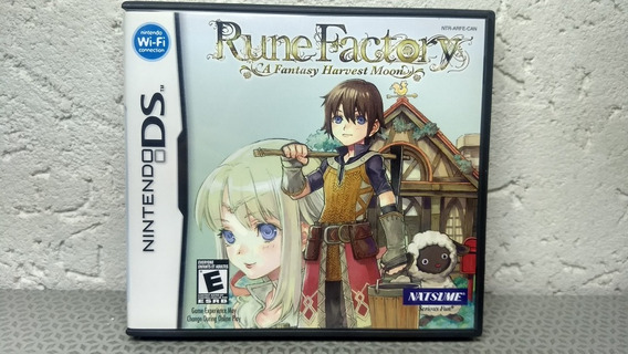 Rune Factory A Fantasy Harvest Moon - Nintendo Ds