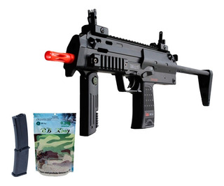 Rifle Airsoft H&k Mp7 A1 - 6mm + Magazine Extra + Bbs