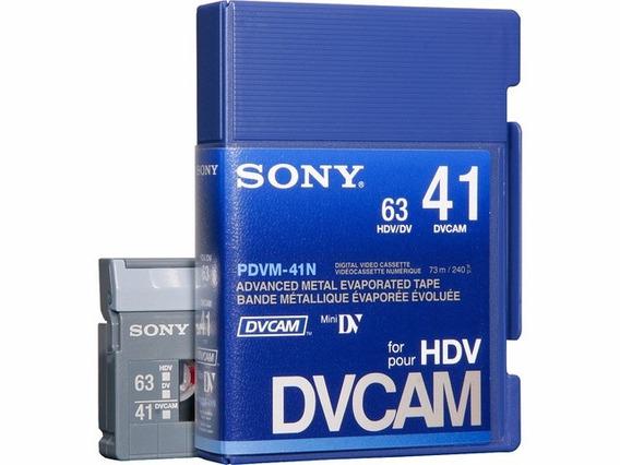 Cinta Dvcam Sony Pdvm-41n