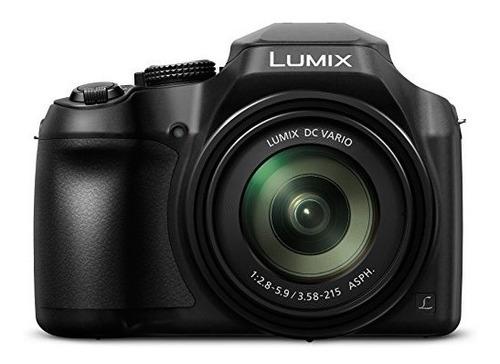 Panasonic Lumix Fz80 Cámara Fotografica 4k Wi-fi 18.1mp 60x