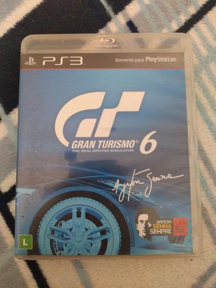 Jogo Gran Turismo 6 Ps3 Mídia Física