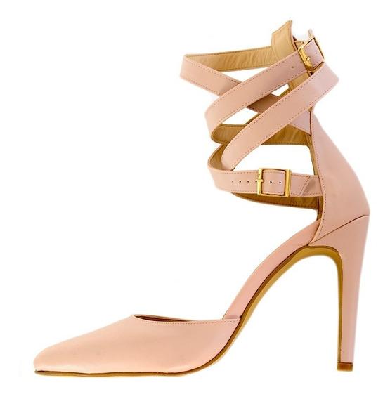 Zapatillas Dama Mujer Tacones Plataforma Tacon 10 Rosa Rich