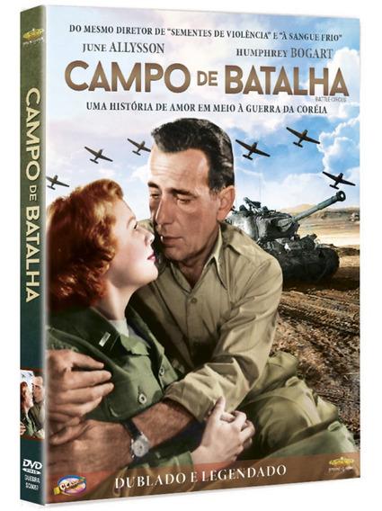 Campo De Batalha - Hamphrey Bogart - Novo - Lacrado