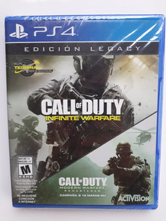 Call Of Duty Infinite Warfare Ed Legacy Ps4 Sellado Español
