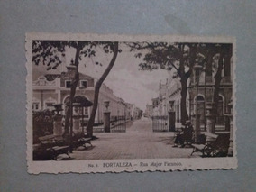 Cartao Postal Nº 6, Rua Major Facundo Em Fortaleza / Ceara