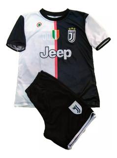 Kit Conjunto Infantil Juventus Cr7 19/20 - Envio Imediato