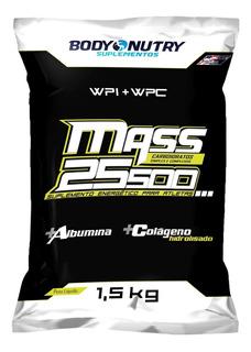 Mass 25500 - Albumina - 1,5 Kg Chocolate - Body Nutry