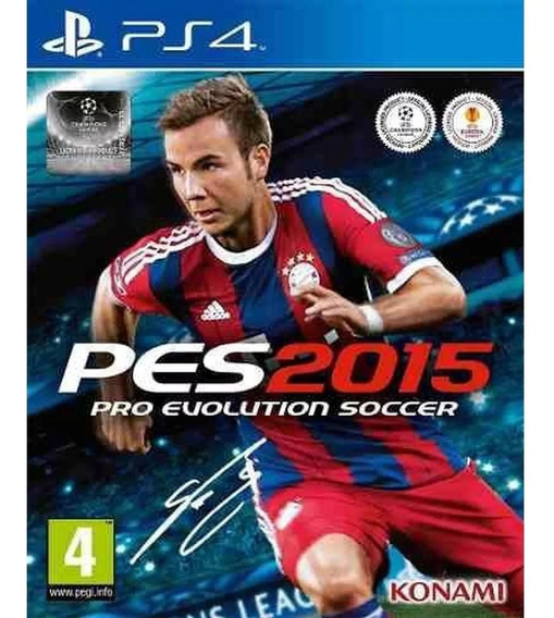 Game Ps4 Pro Evolution Soccer - Pes 2015