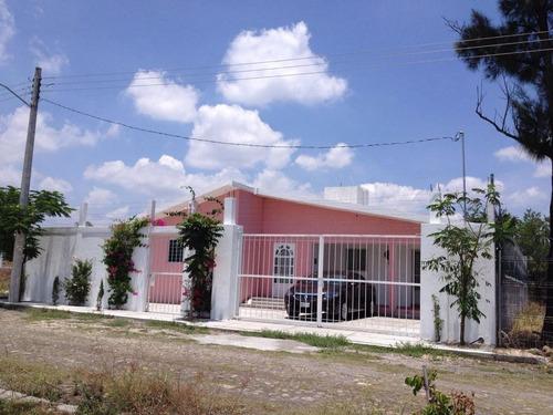Imagen 1 de 14 de Casa De Una Sola Planta  Venta En Paraíso Tlahuica, Morelos