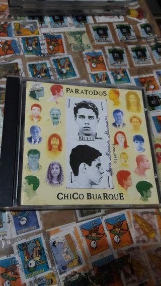 Cd Paratodos Chico Buarque