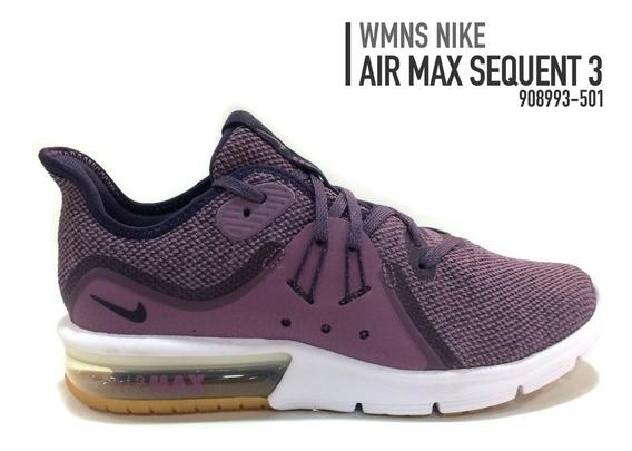 Zapatos Nike Air Max Sequent 3 Damas Original - 908993-501