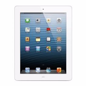 iPad 4ª Geração Wi-fi 16gb Branco Prata Md513ll/a A1458 Eua