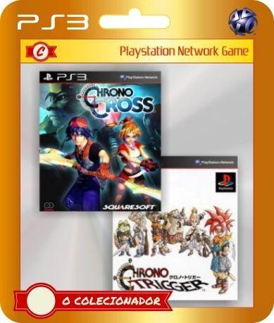 Chrono Cross + Chrono Trigger Ps3