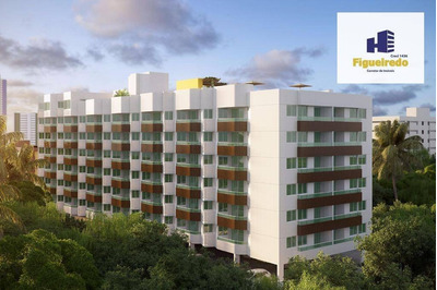Flat Residencial À Venda, Bessa, João Pessoa. - Fl0042