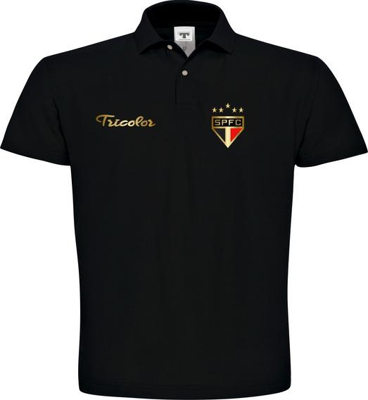 Camisa Polo São Paulo Especial Masculino Vermelho