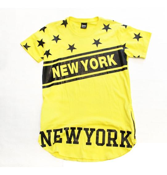 Remera New York Mujer (8970)