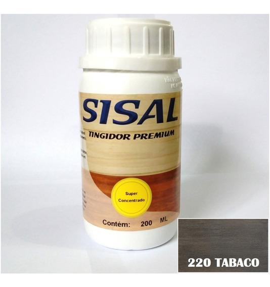 Tingidor De Madeira E Verniz Sisal - 200ml Tabaco