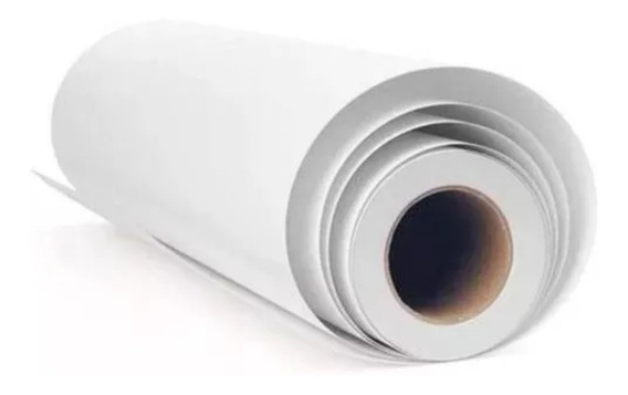 Bobina Para Plotter Papel 75gr 61cm X 50 Metros + Brinde