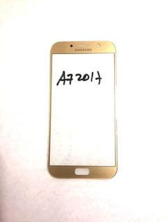 Mica Samsung A7 2017 A720 A720f A720y Dorado Y Negro