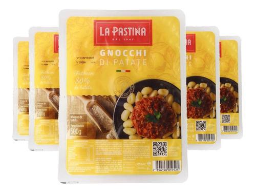 Imagem 1 de 2 de 5x Gnocchi Italiano La Pastina 500g