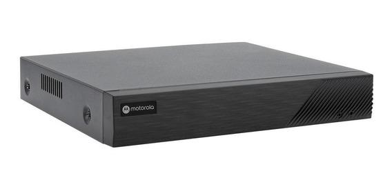 Gravador Digital Nvr Motorola Mtr08ipoe 8 Canais Preto