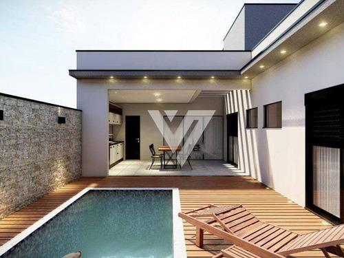 Imagem 1 de 10 de Casa Com 3 Dormitórios À Venda, 170 M² Por R$ 989.000,00 - Condominio Le France - Sorocaba/sp - Ca1957