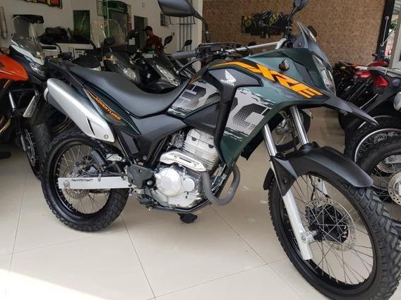 Honda Xre 300 2019 Adventure Verde Abs 2000 Km
