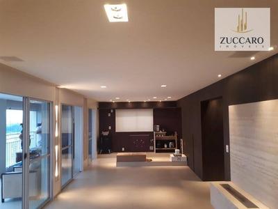 Apartamento No Condomínio Parque Clube, 134m², Excelente Acabamento, Andar Alto. - Ap10891
