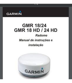 Manual Do Radar Garmin Gmr 18 Hd Em Português