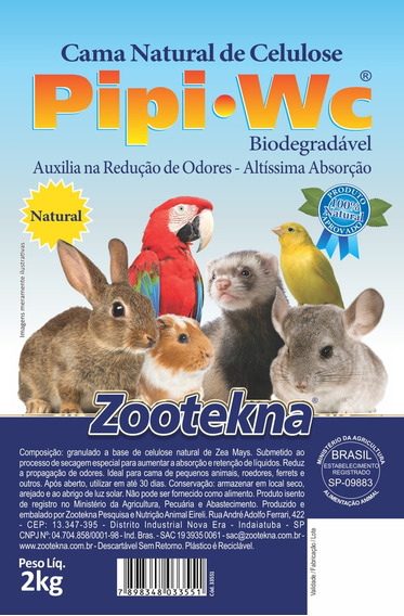 Pipi W.c. Natural - 2 Kg