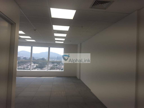 Sala Para Alugar, 50 M² Por R$ 1.400/mês - Empresarial 18 Do Forte - Barueri/sp - Sa0322