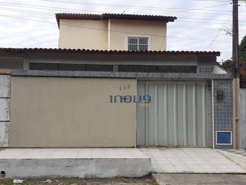 Imagem 1 de 12 de Casa Com 3 Dormitórios À Venda, 130 M² Por R$ 260.000,00 - Mondubim - Fortaleza/ce - Ca1115