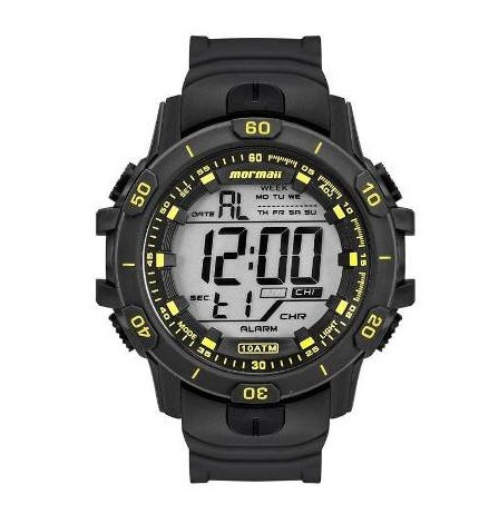 Relógio Mormaii Digital Sport Cronágrafo Mo3690aa/8y