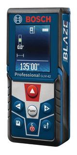 Telemetro Bosch Glm42 Medidor De Distancia Pantalla A Color