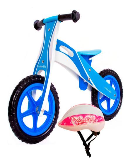 Camicleta Bicicleta Inicio Madera Sin Pedales Incluye Casco