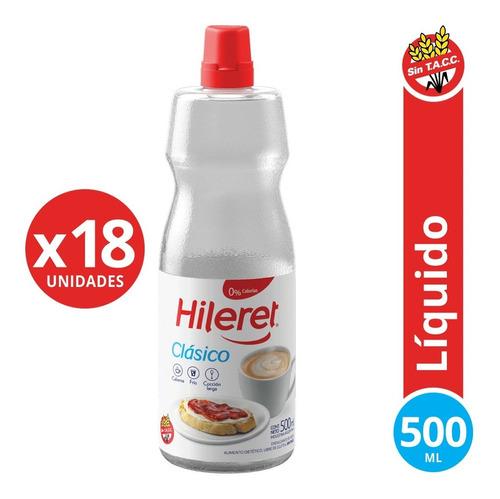 Endulzante Hileret Clásico 500 Ml. Pack X 18