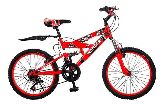 Bicicleta De Montaña Infantil Wander R-20 Raptor X