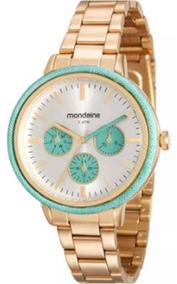 Relógio Feminino Mondaide 89002lpmvde1 Promoção Dia Dos Pais