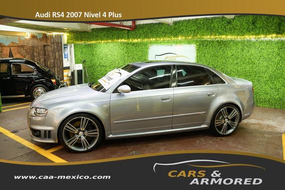 Audi Rs4 Blindado