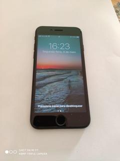 iPhone 7 Apple 32gb Preto Matte 4g Em Bom Estado Na Caixa !!