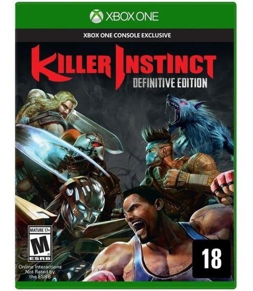 Killer Instinct Xbox One Mídia Física Usado