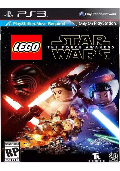 Lego Star Wars The Force Awakens Jogo Original Ps3 Psn