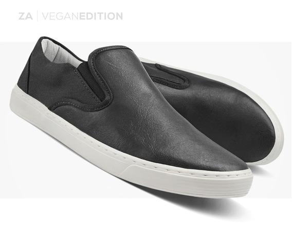 Tenis Sapatenis Masculino Slip On Sapato Sem Cadarço Zalupe