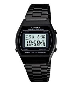 Relógio Casio Unissex Vintage B640wb-1adf Preto Original
