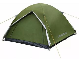 Carpa Iglu Waterdog Aconcagua Plus 4 Personas Abside Impermeable Aluminizada Camping Pesca Trekking Campamento