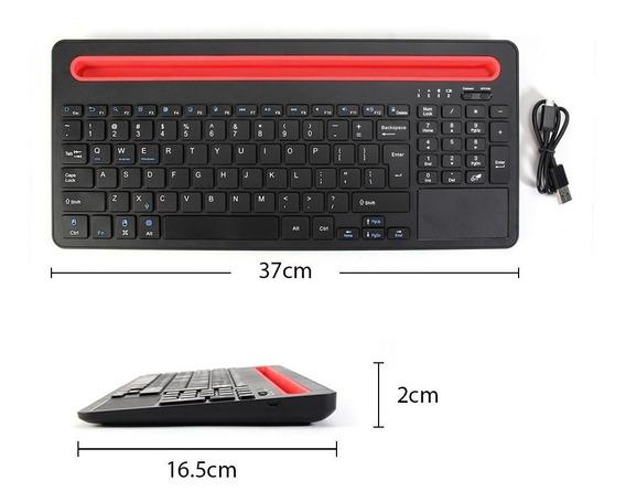 Teclado Sem Fio Gmyle Multi-device Bluetooth Keyboard Ios P
