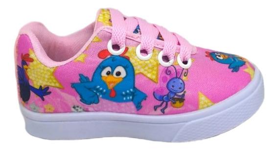 Sapato Galinha Pintadinha Bebê Infantil Criança Promoção