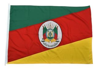 Bandeira Oficial Do Rio Grande Do Sul Tam 90x129cm