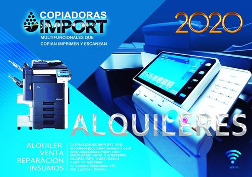 Alquiler Y Venta De Fotocopiadoras Impresoras Y Escaner Pc's