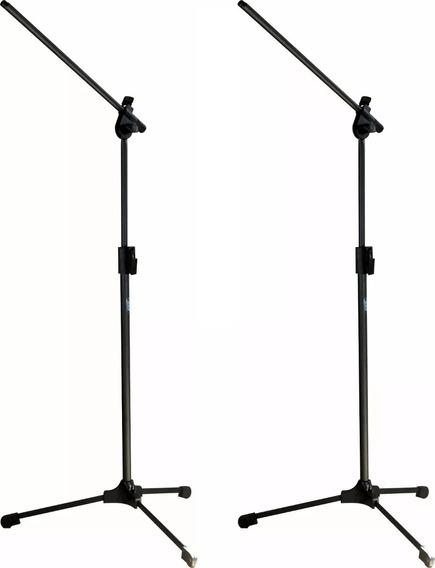 Trio De Pedestais Para Microfone Ask